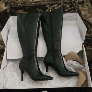 Nine West Wide Calf Boots